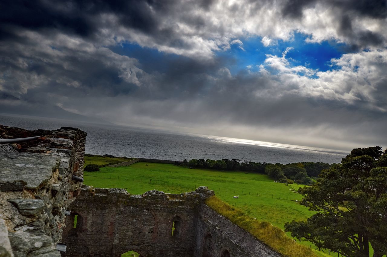 Wide Angle Staycation Scotland Scottish West Coast Soul Soup Cloud - Sky Beauty In Nature Skipness Castle