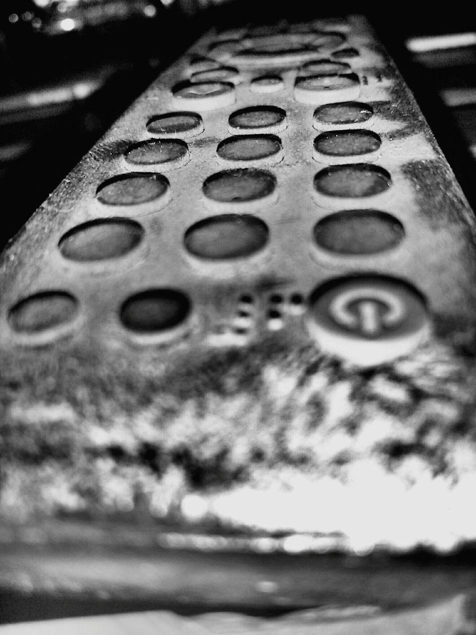 Remote Full Of Dust Focused Photo