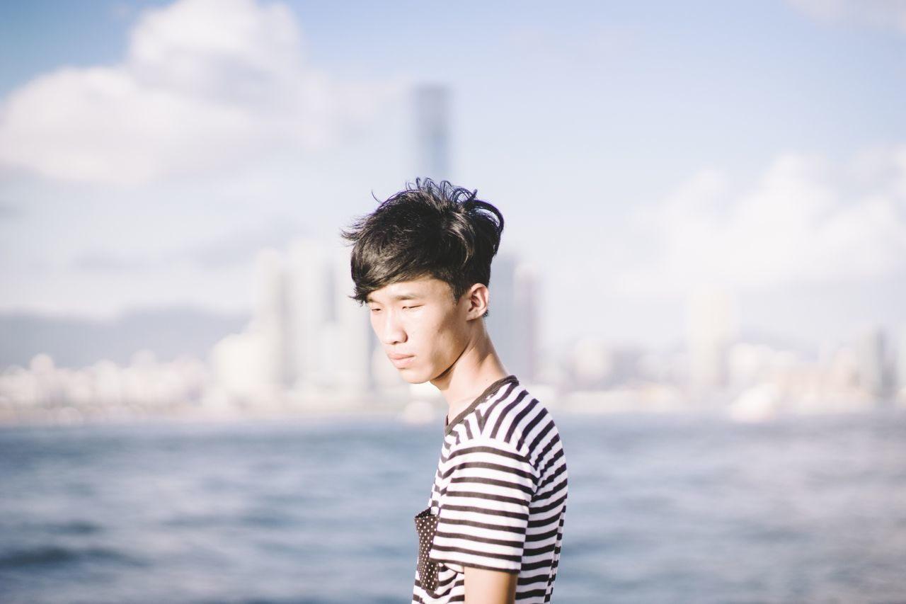 Beautiful stock photos of hong kong, Asian And Indian Ethnicities, Casual Clothing, Day, Focus On Foreground