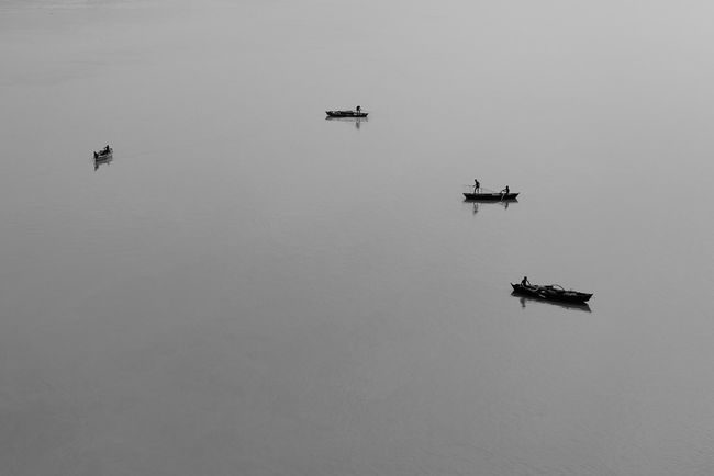 Varanasi, 2016 Boats Eyeemphoto Fishing Ganges India River Travel Travel Photography Varanasi Varanasi, India Ganges, Indian Lifestyle And Culture, Bathing In The Ganges,
