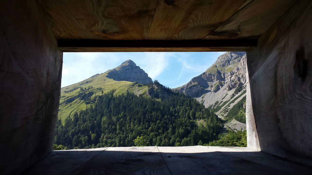 Wonderful mountain view. Eng Tirol  Austria Karwendel Karwendelblick Hanging Out Check This Out Relaxing Enjoying Life Hello World