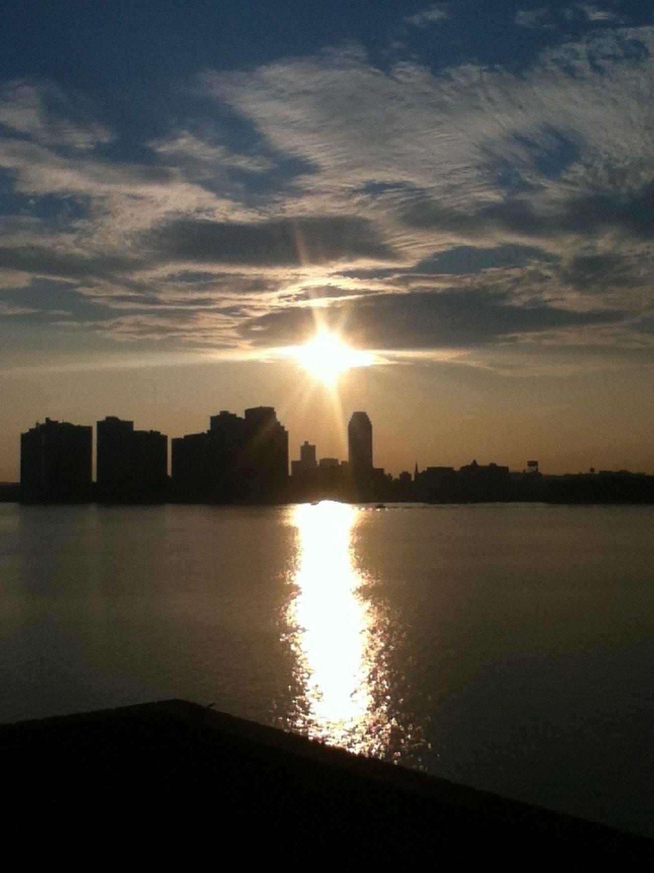 I enjoy watching the sunrise.