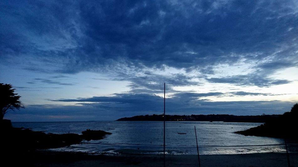 Brittany Sky Sea And Sky Seaside Beach Photography