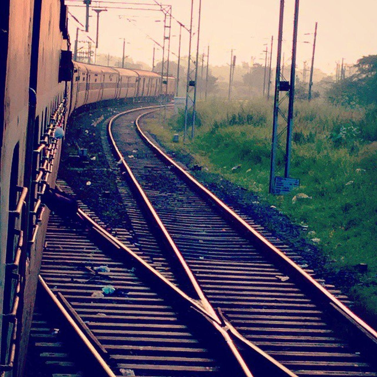 Travel Indianrail Wardha Morning