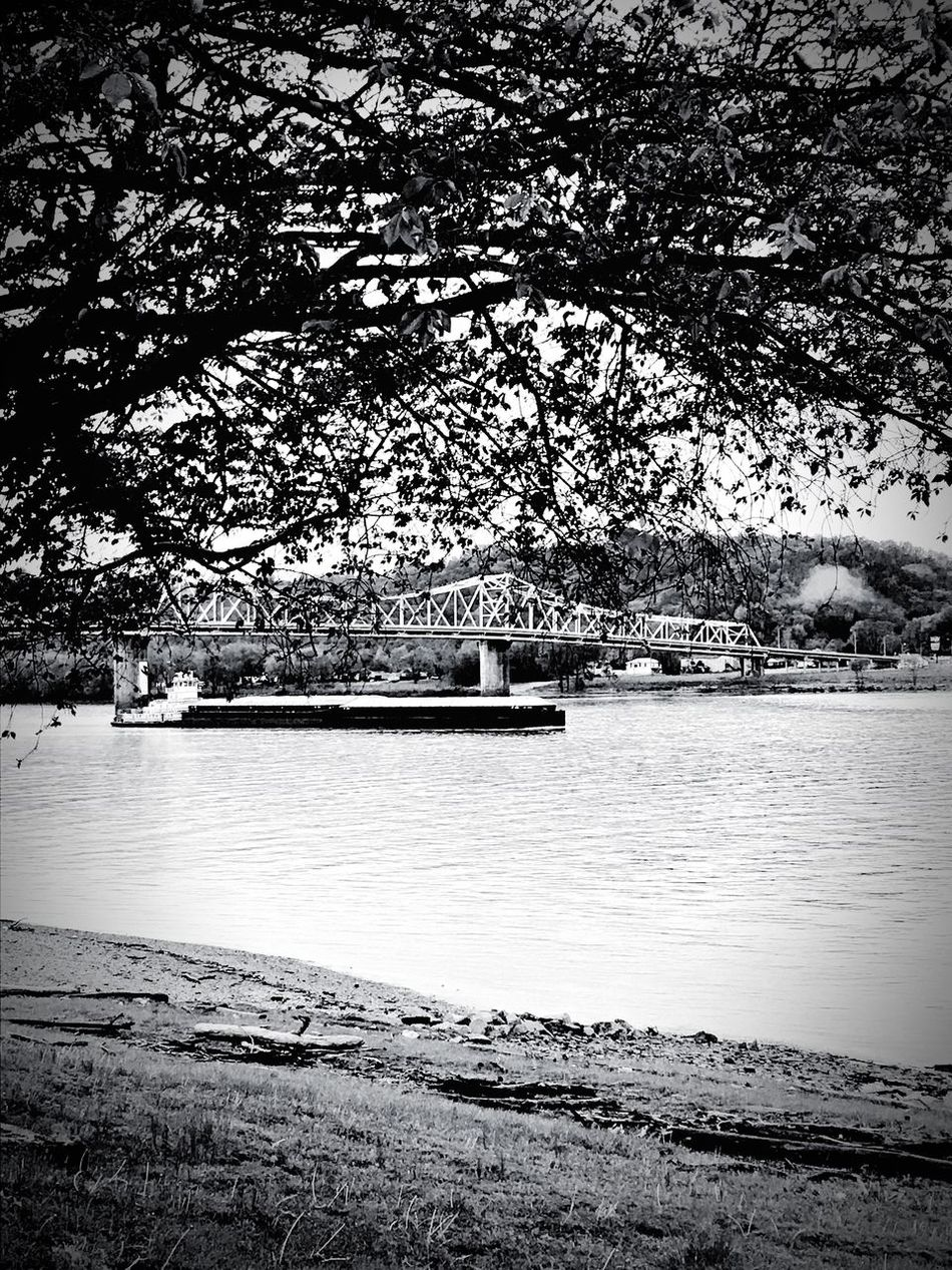 River Tree Water Nautical Vessel Outdoors No People Scenics Riverbank Madison Boat