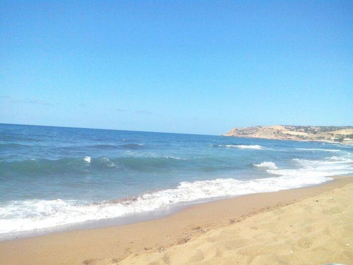 Relaxing Enjoying The Sun Sea