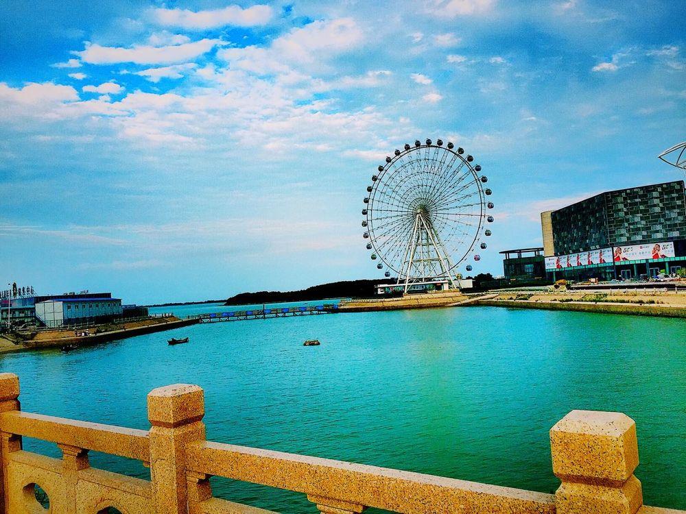 Qingdao Eye 🎡 Hello World IPhoneography IPhone China Photos Qingdao China