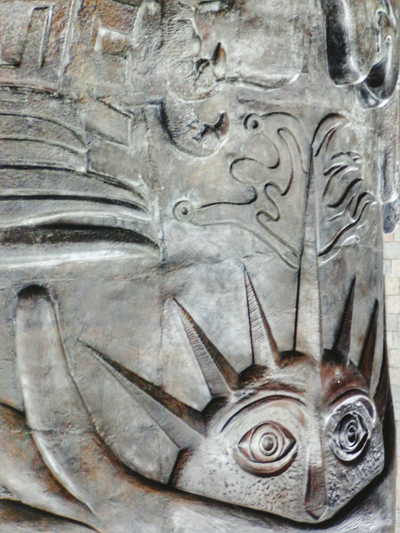 Close-up Art And Craft Full Frame Human Representation No People Architecture Bas Relief