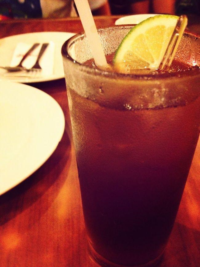 Stress Buster... Long Island Tea!