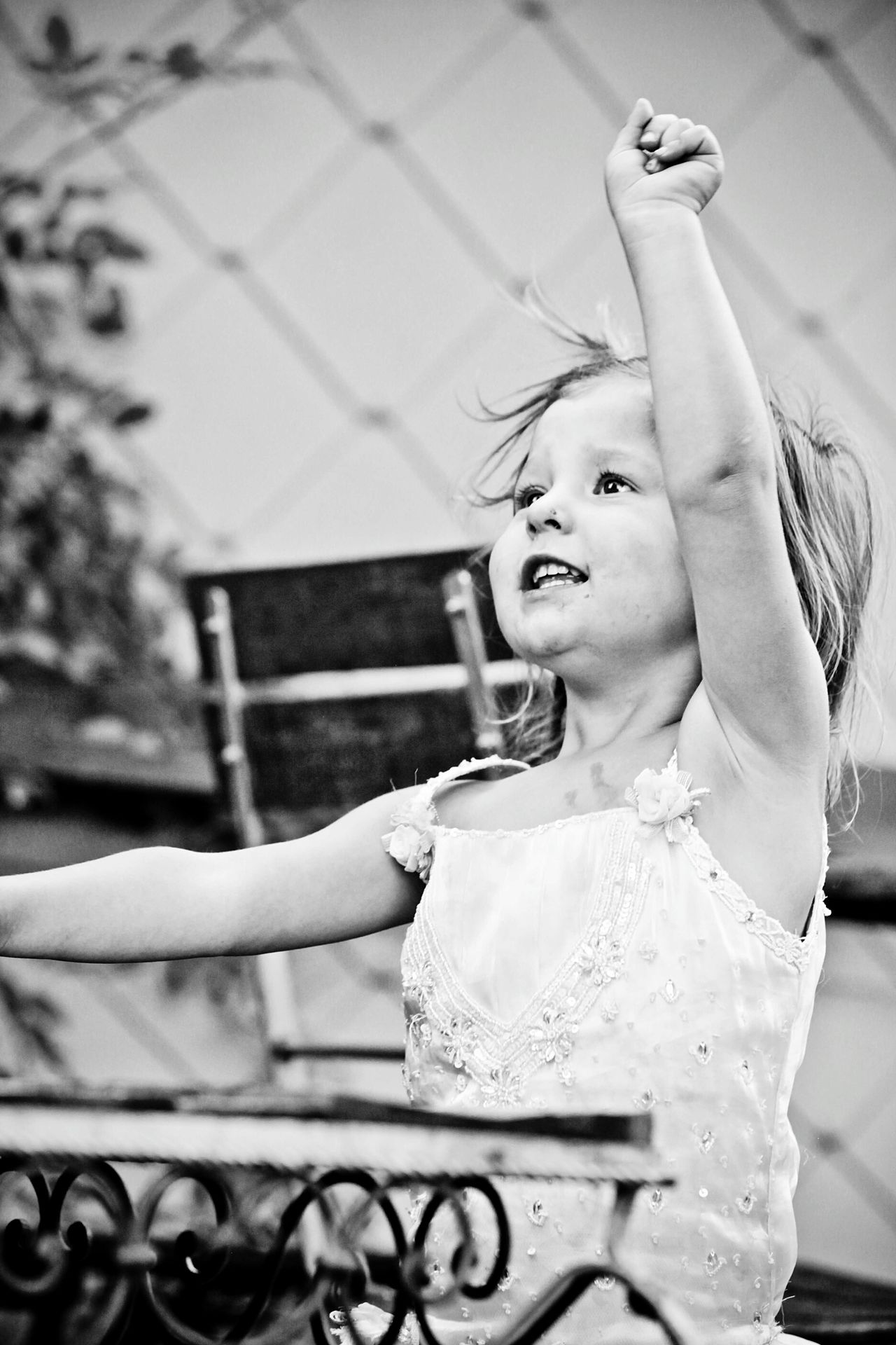 Child Children Childhood Toddler  One Girl Only Girl Little Girl Black And White Black & White Blackandwhite One Person Hand Raised Hands Up Hands Amazement Joy Joy Of Life Pure Pureness EyeEmNewHere