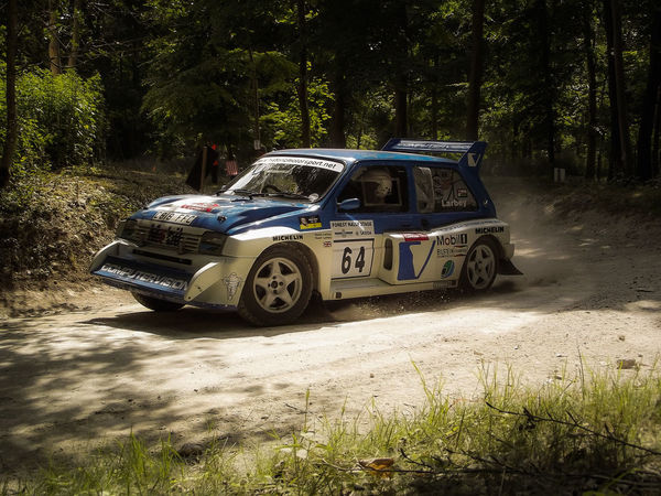 6R4 Motorsport Dirt Road Group B Rally Rally Car Festival Of Speed