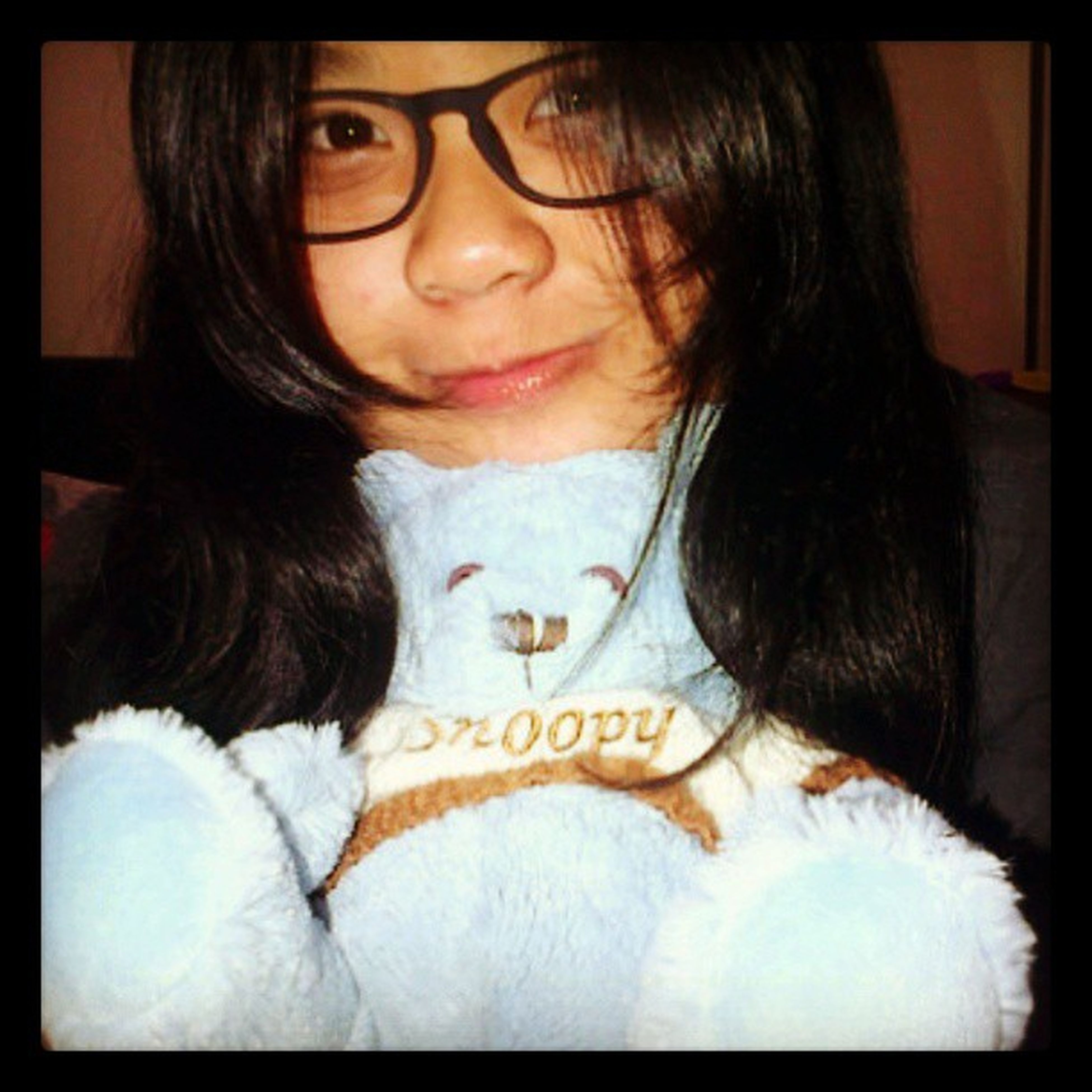 TheOldPhoto Good Night Natural me selca smile big glasses blue teddy instapict instagood