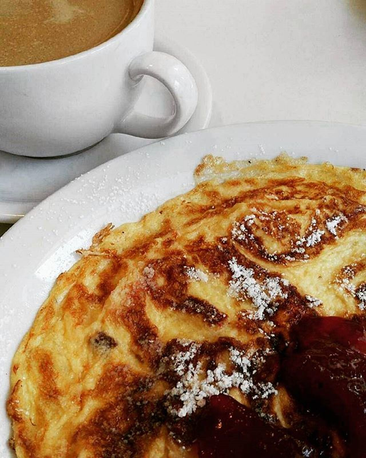 Goodmorning Warsaw Breakfast Coffee Omlet Sweet Sunny Day Blogger Love Food Delicous Beauty Trip Ladies Lifestyle Jam Milk Bar