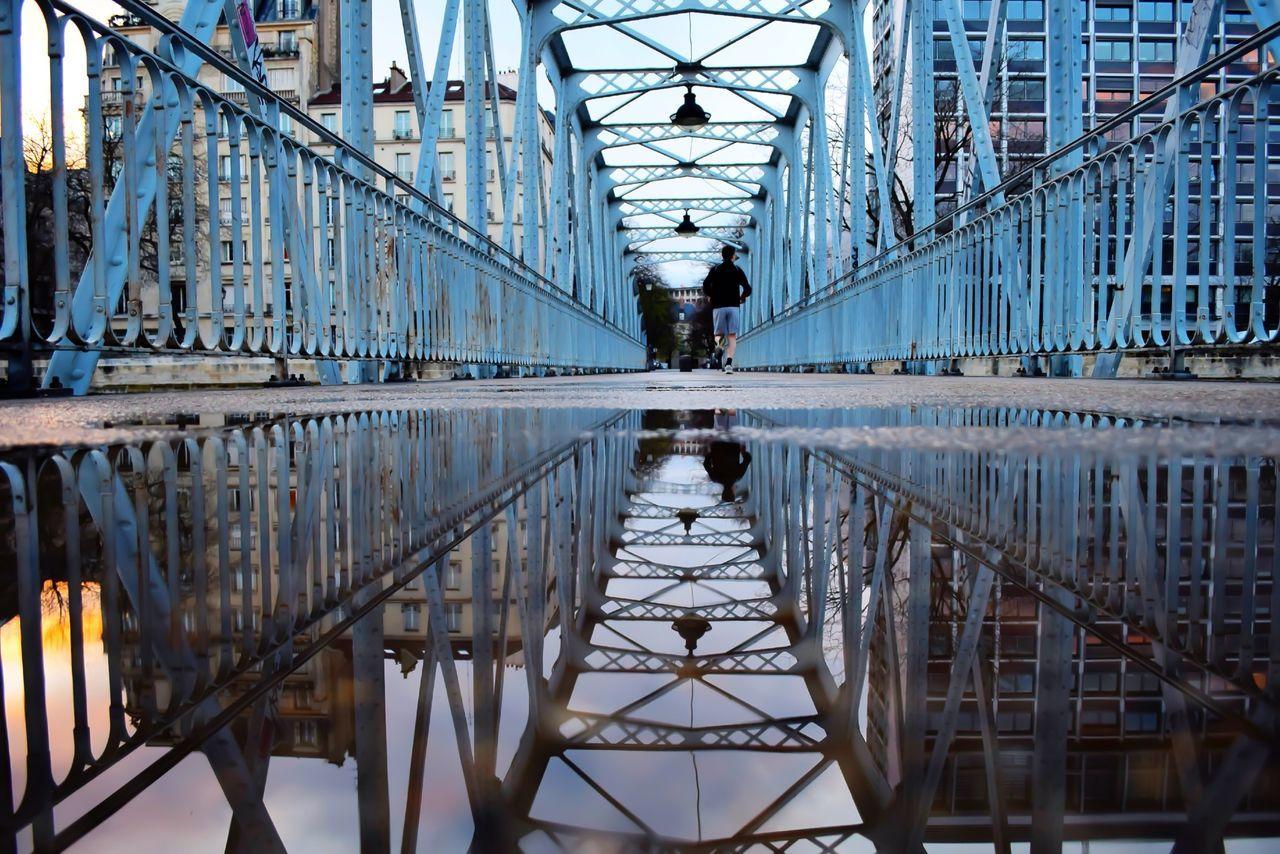 Beautiful stock photos of metal, Architecture, Bridge, Building Exterior, Built Structure