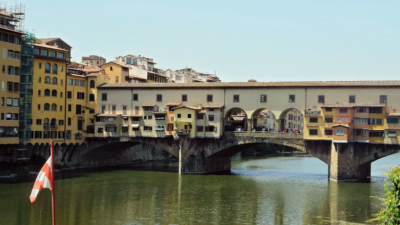 Italia Italy Florence Firenze Ponte Vecchio Holiday Trip