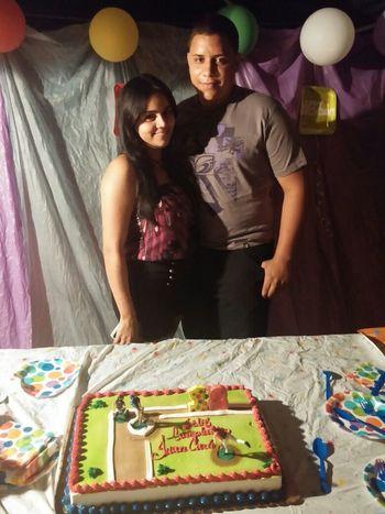 In he's birthday happy day