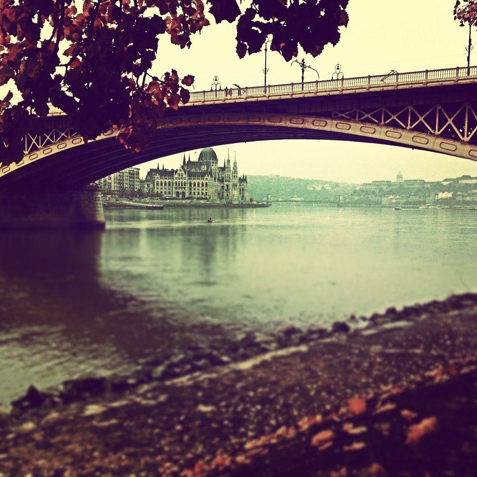 Architecture Bridge Built Structure Connection Margharetisland Reflection River Water