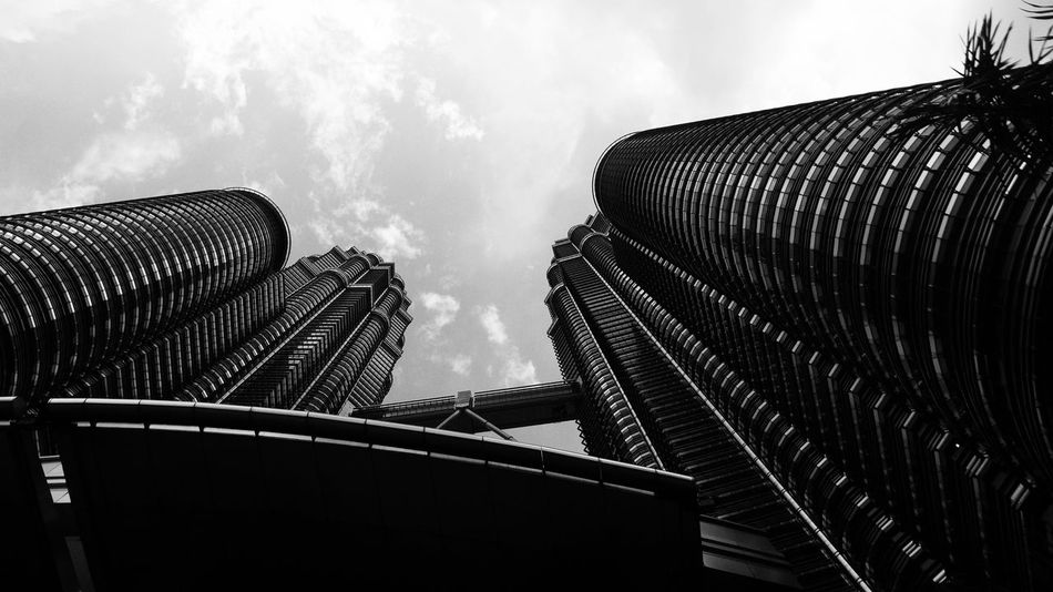 Architecture Low Angle View Built Structure Sky No People Building Exterior Modern Outdoors Day City