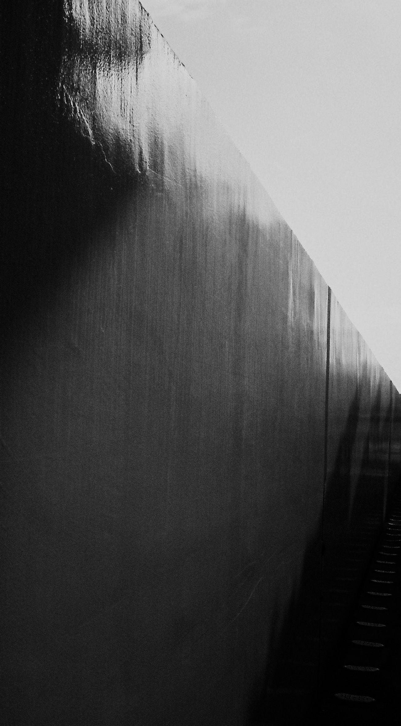 A wall. It has a lot of meaning. Architecture Black And White Contrast Day EyeEmNewHere Film Japan Photography Lines And Shapes Monochrome Separation Shadows & Lights Strong Symbol Symbolic  Wall