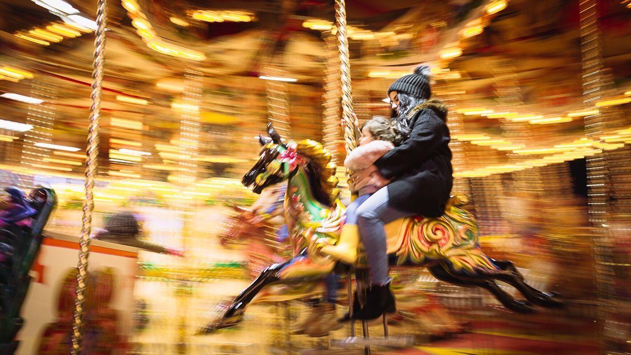 Motion Carousel Illuminated Family Love Fun Panning EyeEm Best Shots