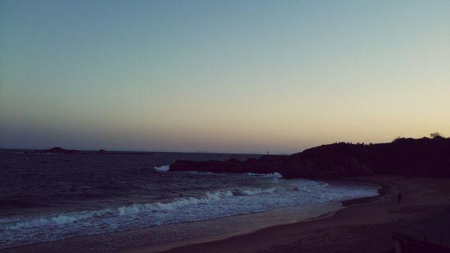 Beach Relaxing Sunrising