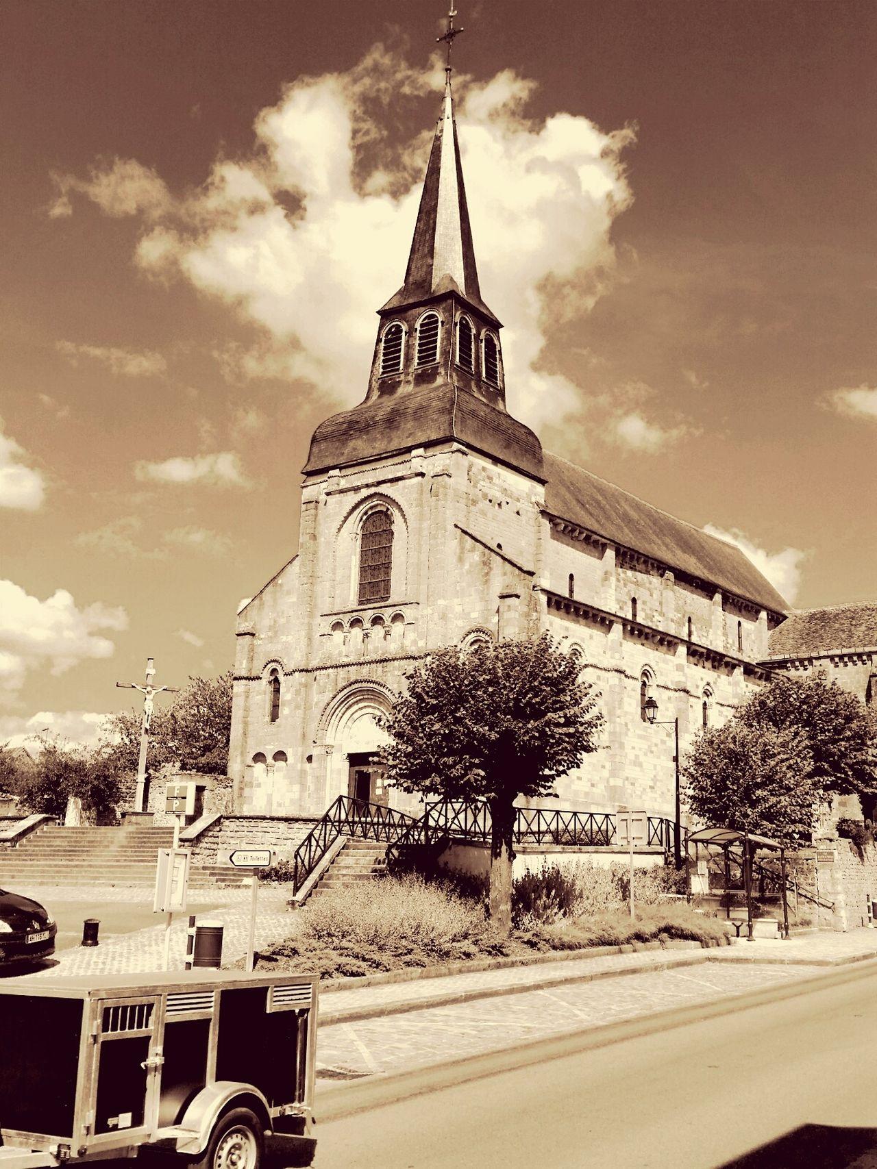 Church Chateaumeillant France First Eyeem Photo Monument Classé