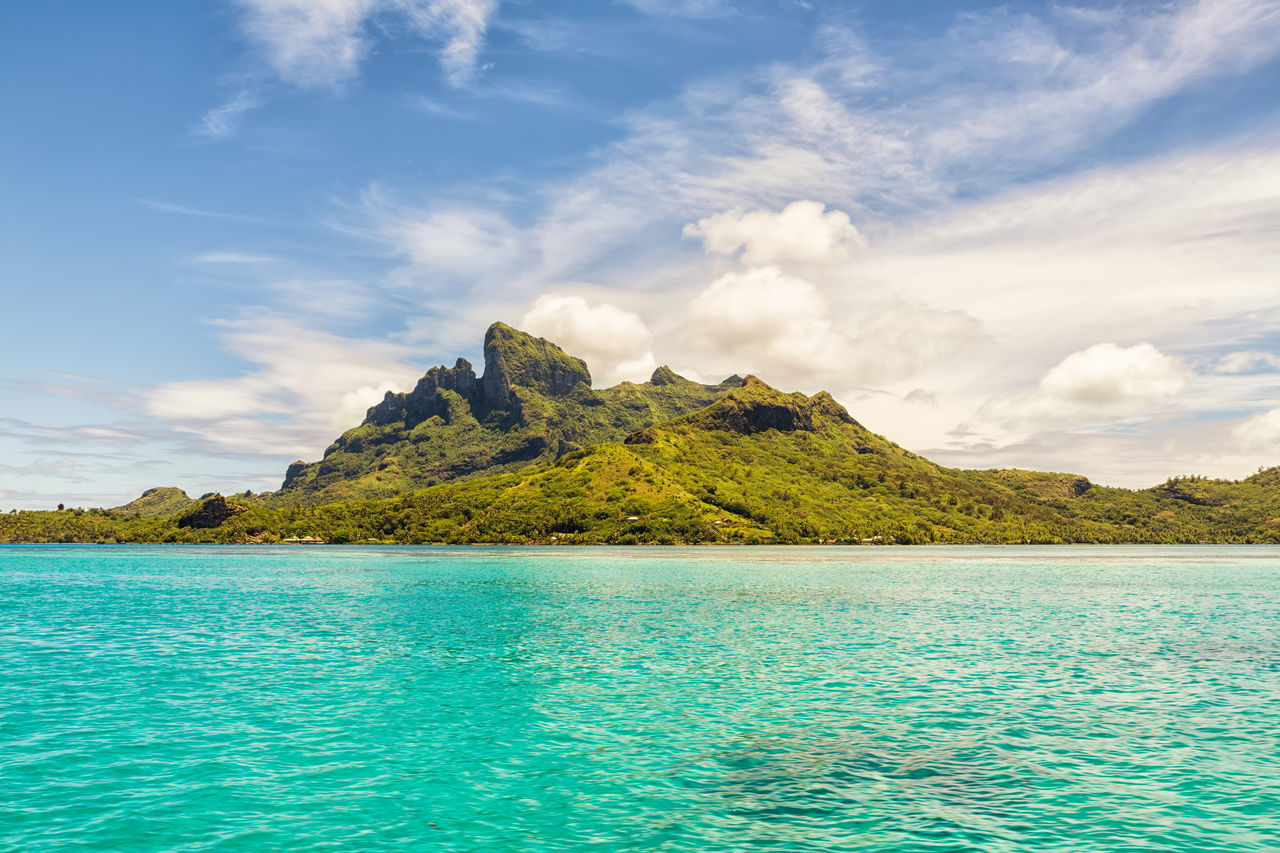 Beautiful stock photos of bora bora,  Beauty In Nature,  Cloud - Sky,  Day,  Forest