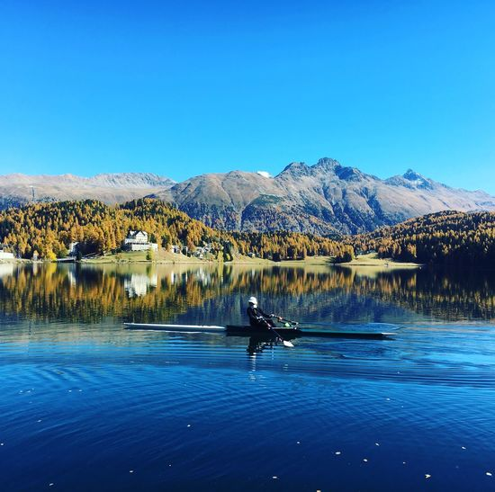 Perspectives On Nature Saint Moritz Lake