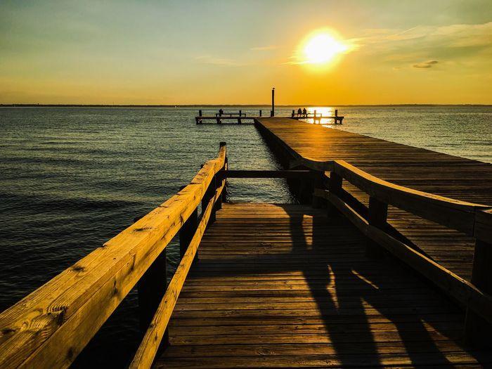 #Dock #pier #shadows