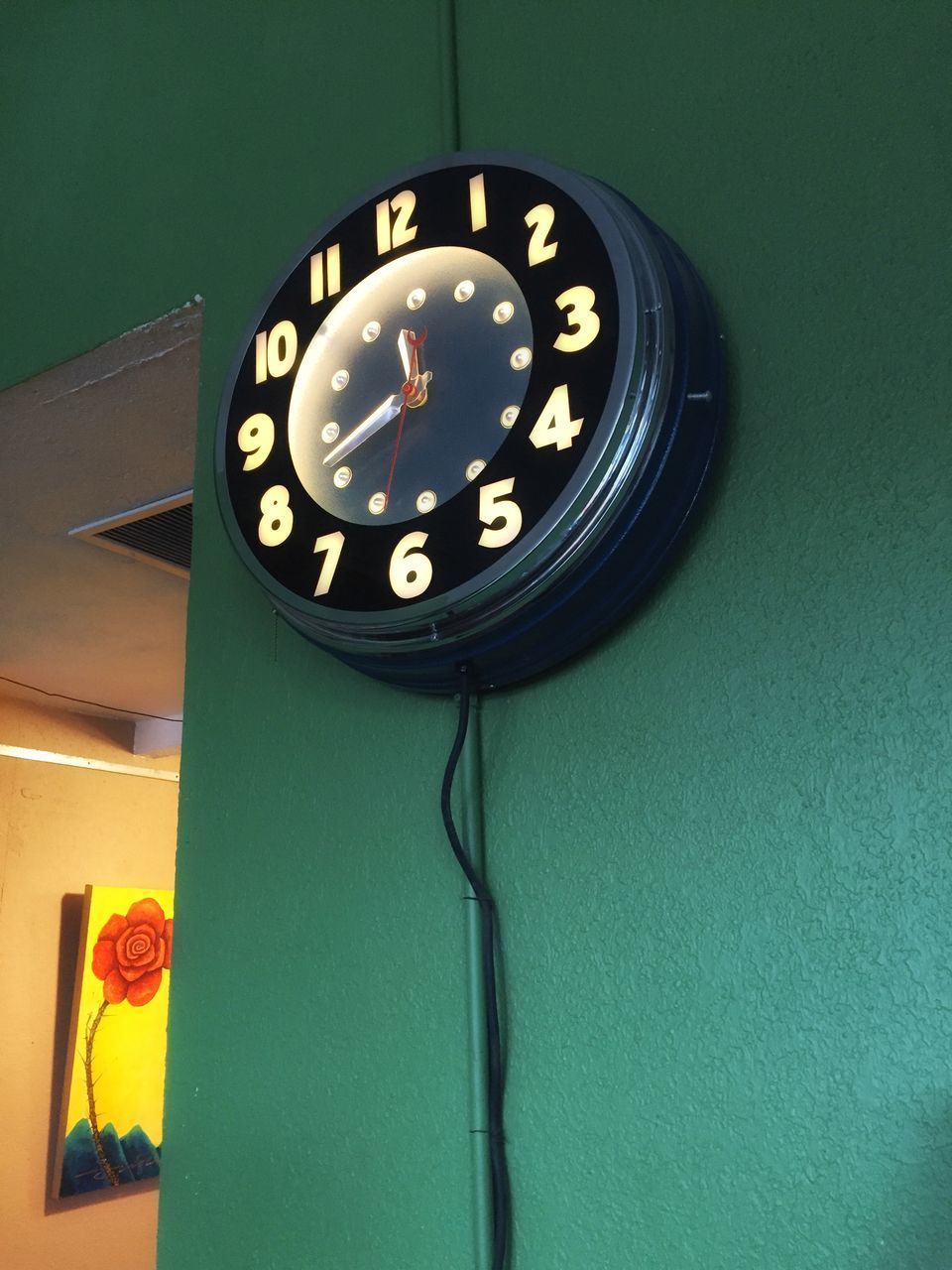 indoors, time, no people, communication, clock, close-up, day