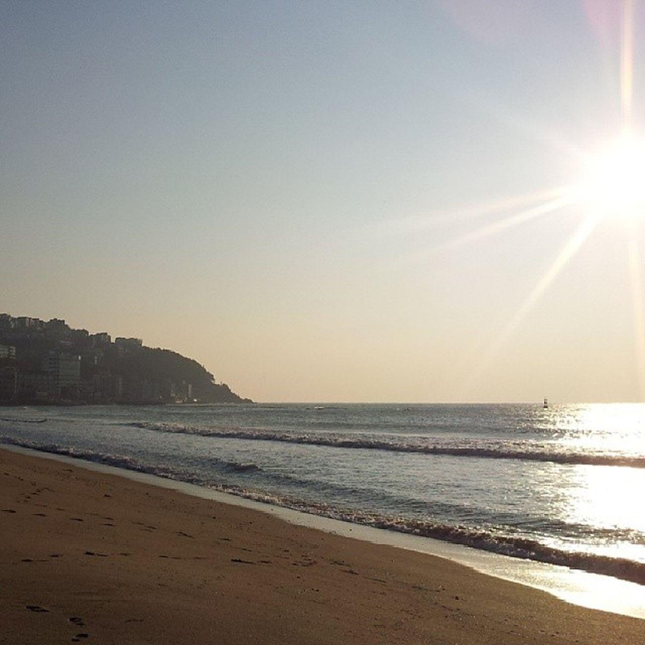 nice shoot..! Busan Beach Beautiful Haeundae nofilter