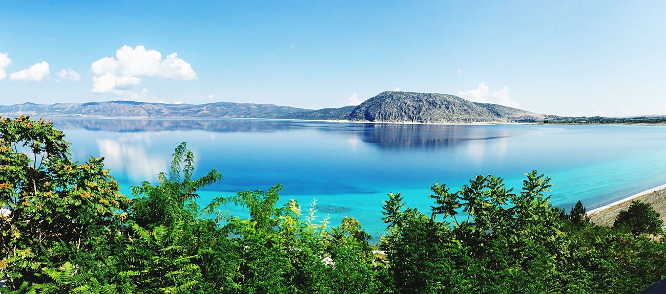 Nature Beauty In Nature Salda Lake Lake Outdoors Blue
