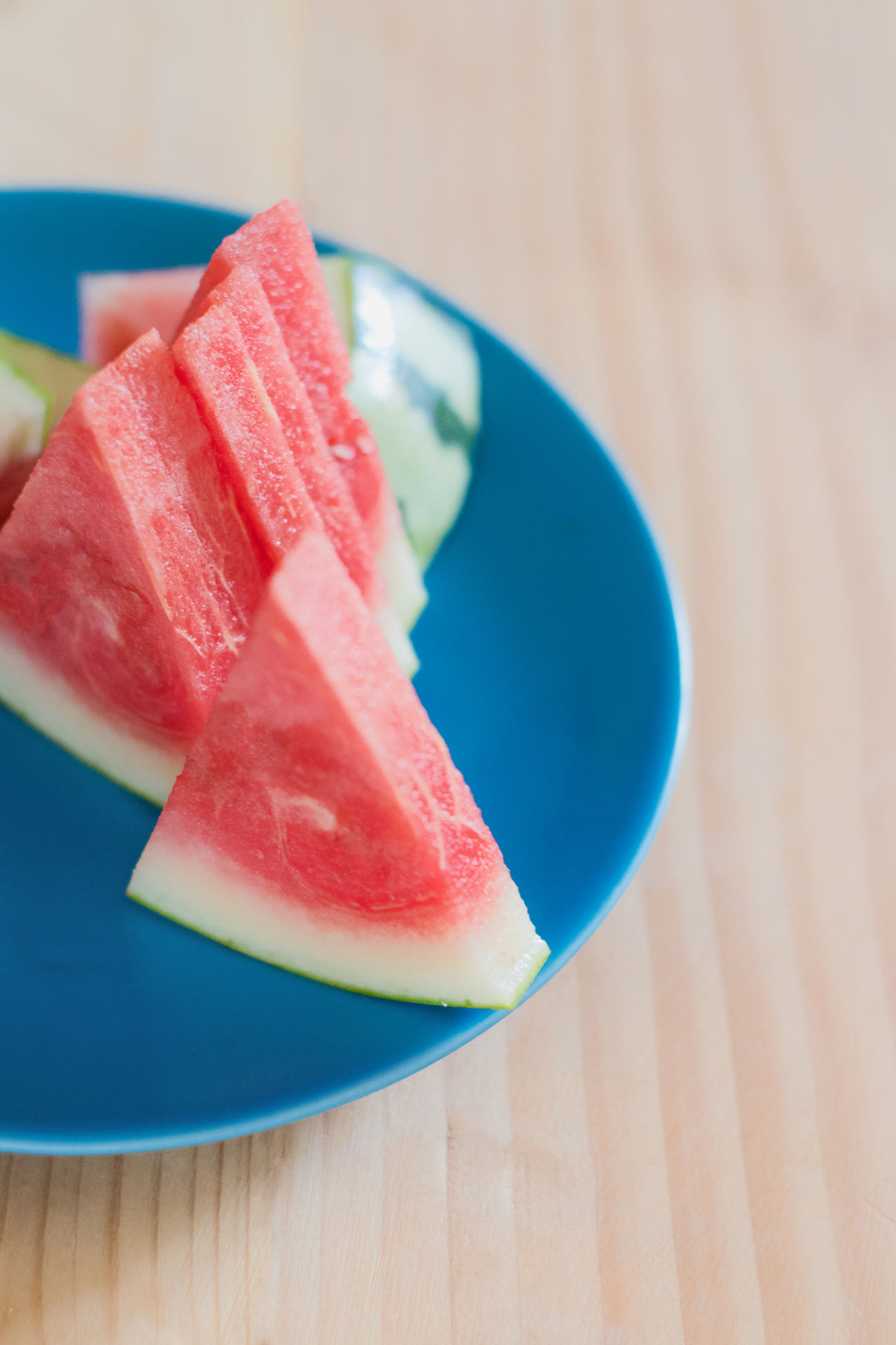 Water melon the taste for summer Focus On Foreground Food Freshness Fruit Healthy Food Indulgence Multi Colored No People Selective Focus Still Life Summer Food Temptation Vivid Water Melon