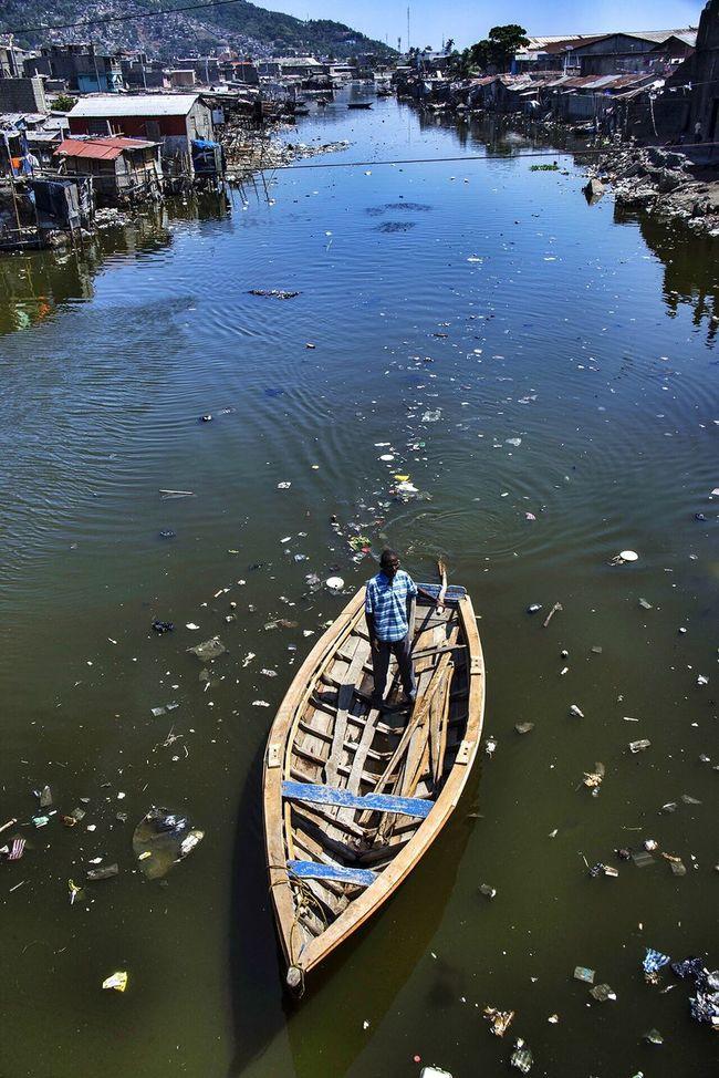 Boat. Cap Haitien - Haiti