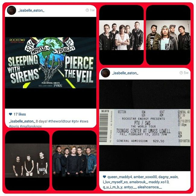 Ptvswslowell TheWorldTour Ptvswslowell Sws Malloryknox PVRIS Excitment