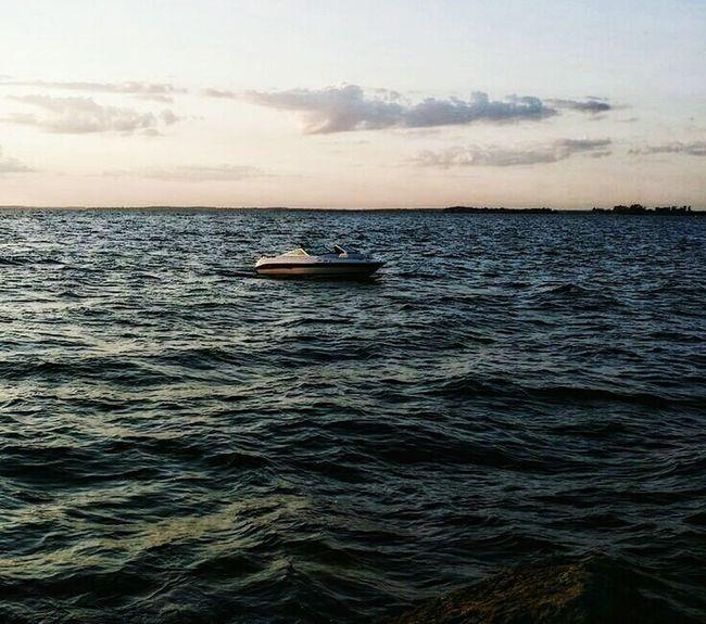 Watching Boats Lake Ontario Eyem Best Shots - UpstateNY Waterfront Lake Shore Sitting On The Pier Waiting For Sunset...