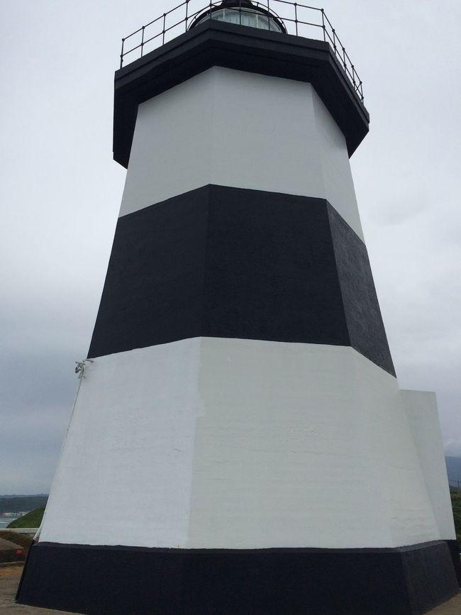 臺灣最北端--富貴角燈塔。與Macie