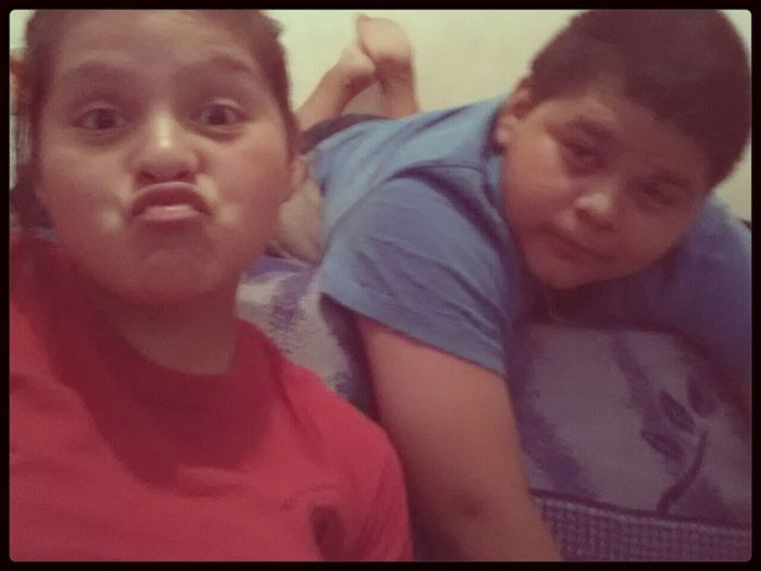 My Brother & I . We Do It For The Ratchets 
