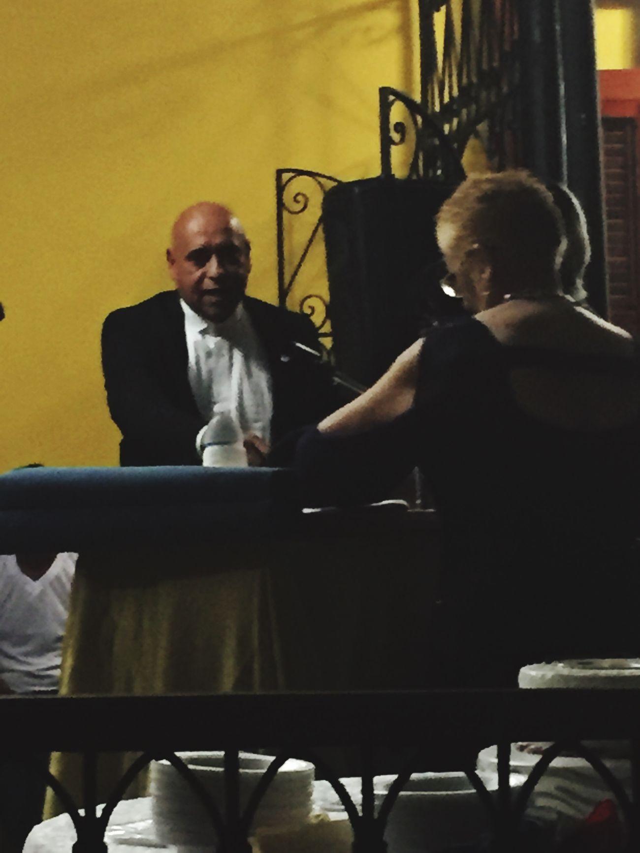 El maestro Frank Caraballo