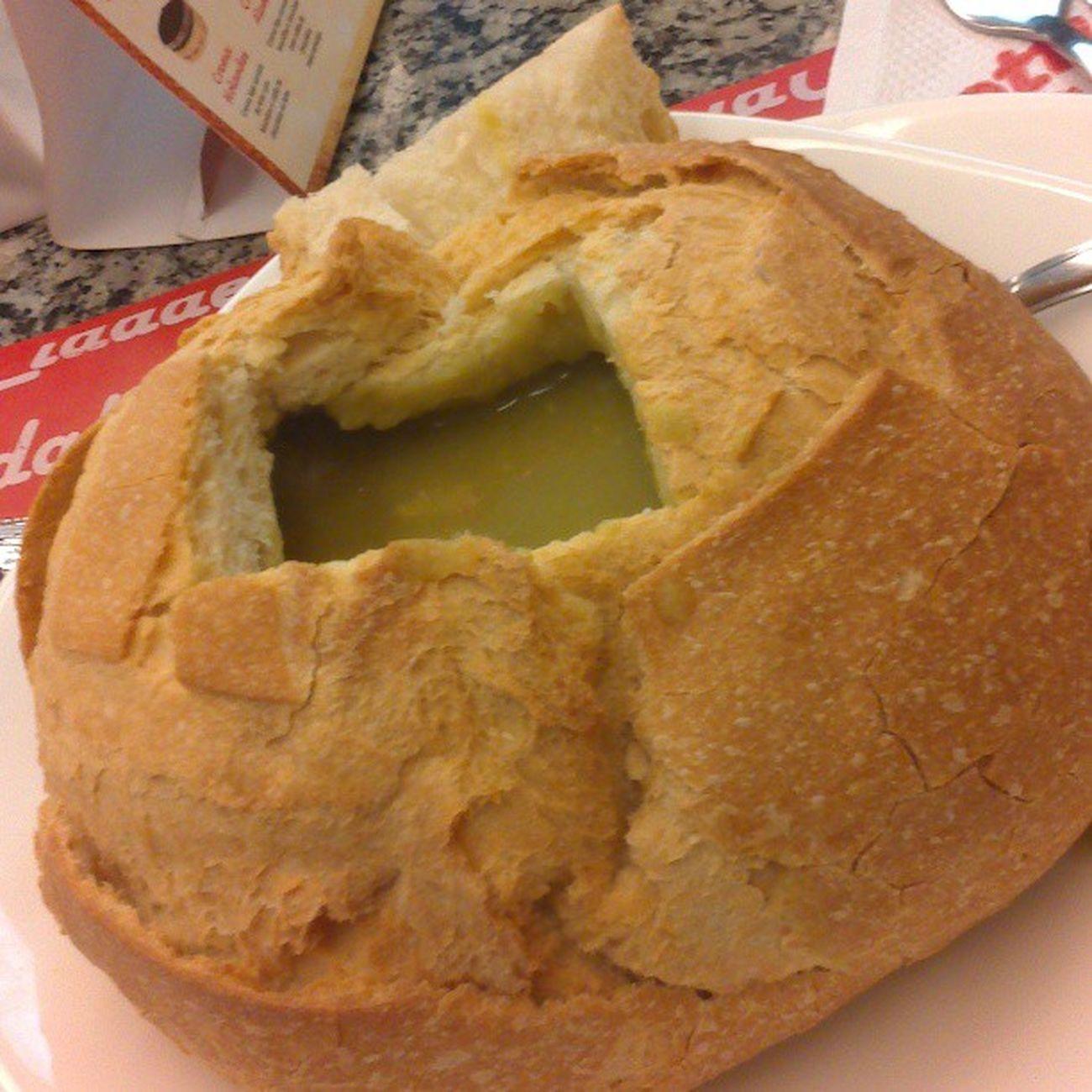 Almoço no Totta, Amosopa
