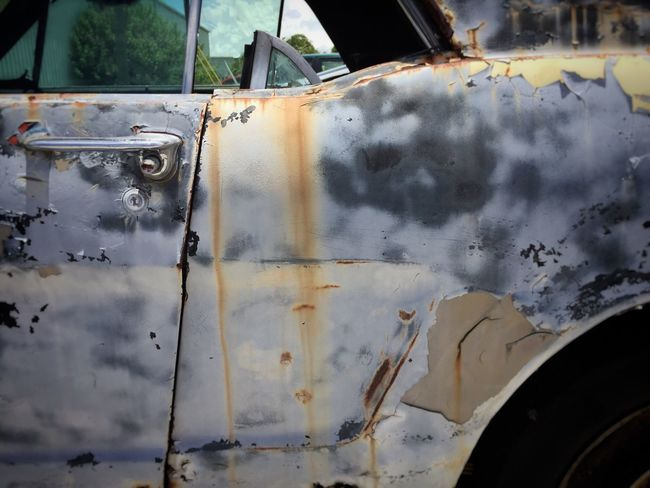 Junkyard car Junkyard Junkyardcar Rusty Autos Wrecked Car Auto Abstract