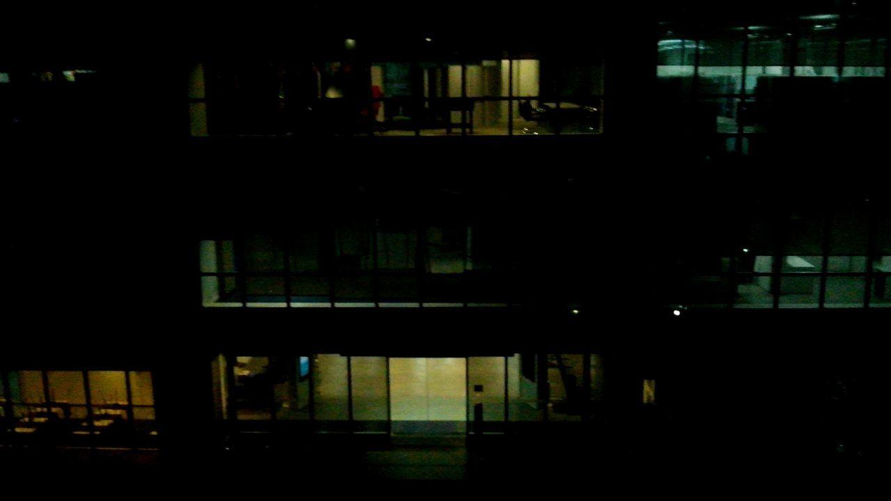 dark, night, illuminated, architecture, built structure, indoors, silhouette, no people, city, building exterior
