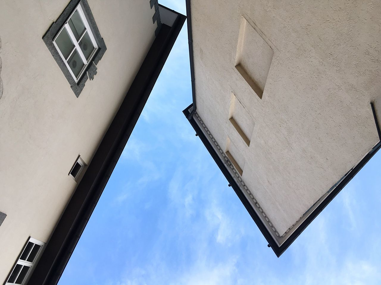 Bad Tölz Bavarian Architecture Architecture_collection Architectural Detail Built Structure Low Angle View Building Building And Sky Architecture And Sky Bavaria Modern Architecture Geometric Shapes Geometry