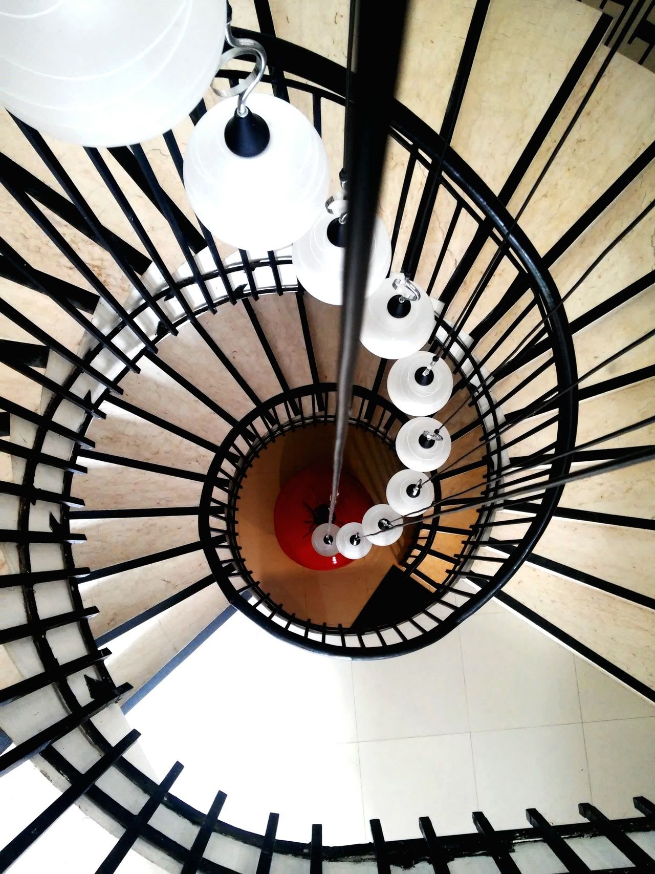 Circular Spiral Steps And Staircases Staircase Railing High Angle View Spiral Staircase Spiral Stairs Structure Lamp Stairs Interior