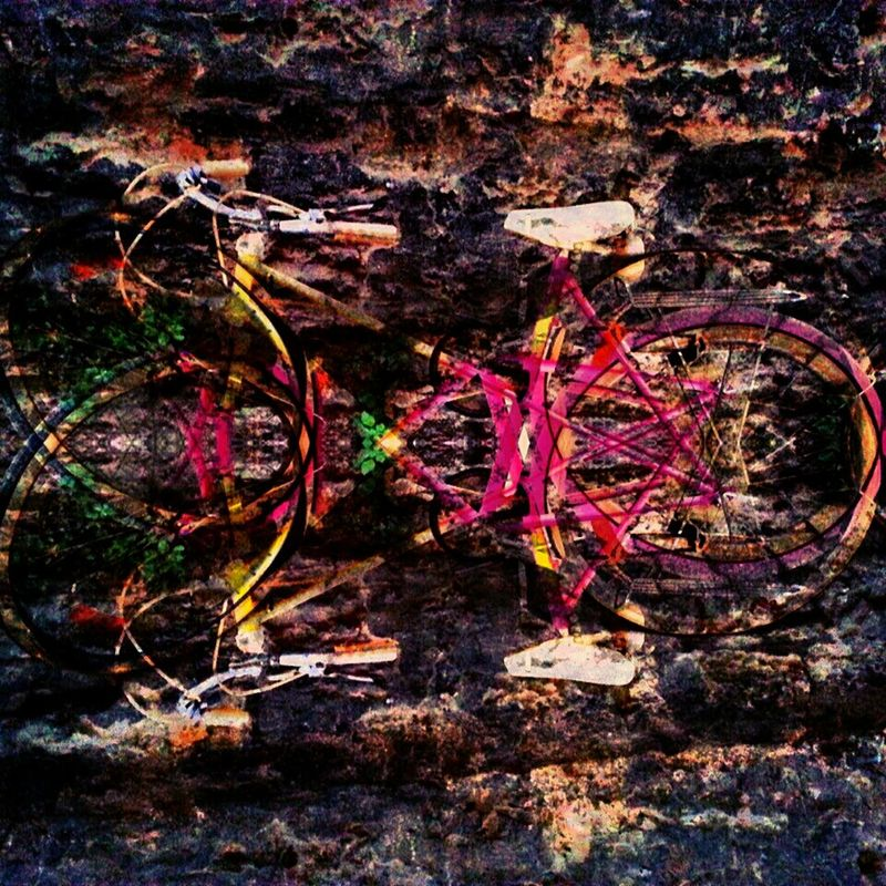 Breathe... abstract streetphotography bicycle Abstractions in colors eye4photography  pinkitude by Sinemis Koç