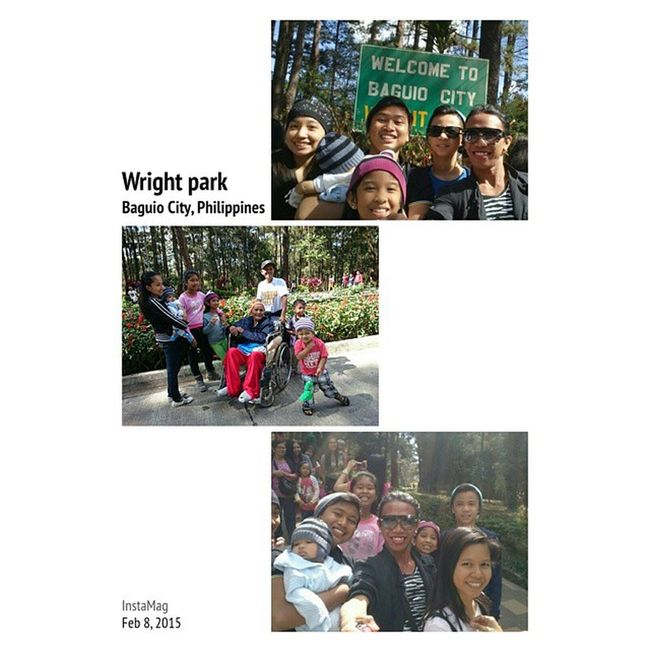 Happy memory Wrightpark Baguioescapade Travel Backpacking fambam instamoment