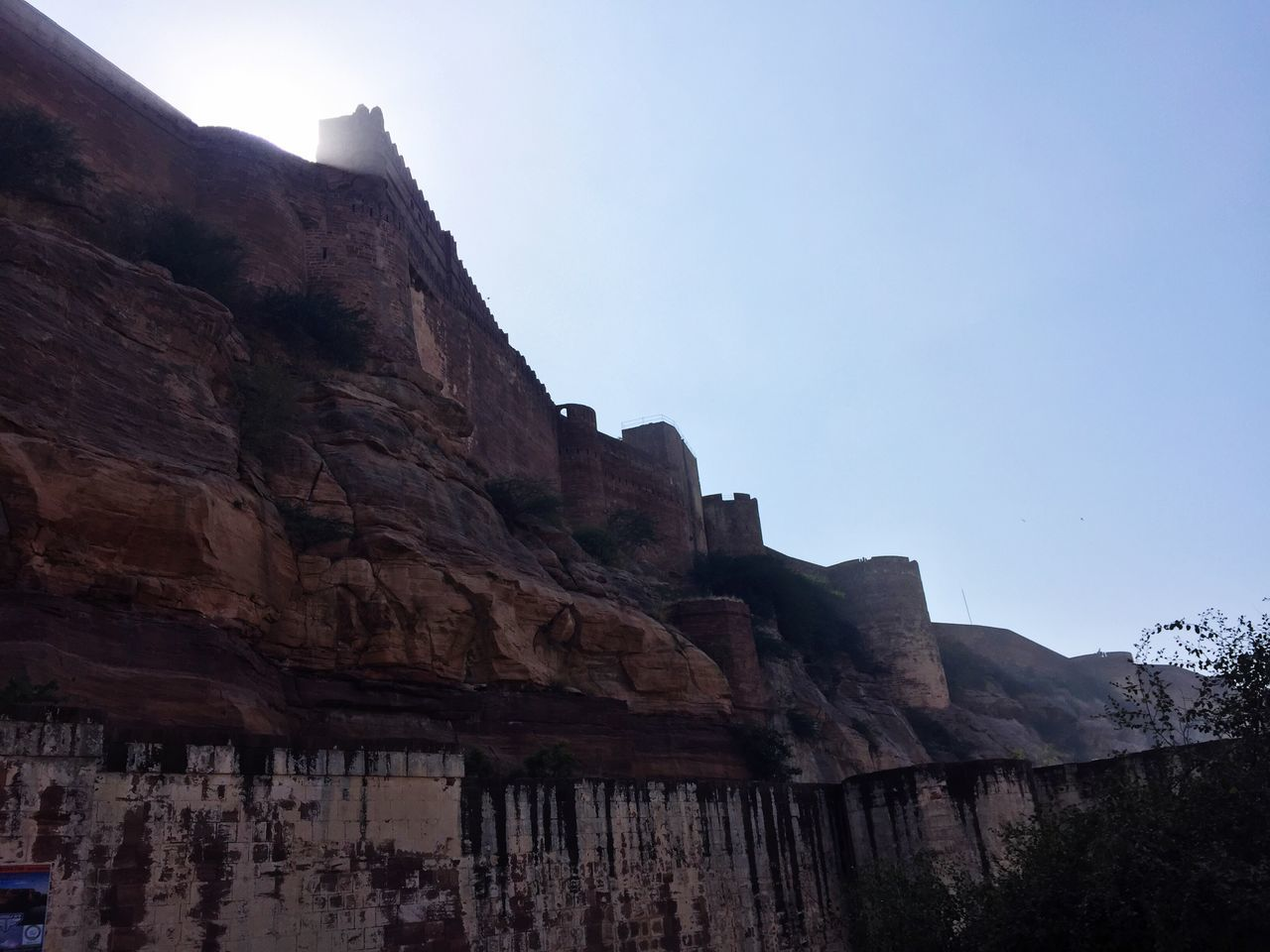Mehrangarh Fort Outdoors Rock - Object Physical Geography Mountain Sky Day Scenics Travel Taking Photos EyeEm EyeEm Gallery IPhoneography Eye4photography  EyeEmBestPics Getting Inspired First Eyeem Photo From My Point Of View EyeEm Best Shots Built Structure