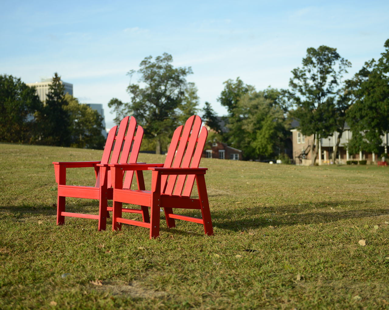 Beautiful stock photos of red, Absence, Adirondack Chair, Cloud, Day