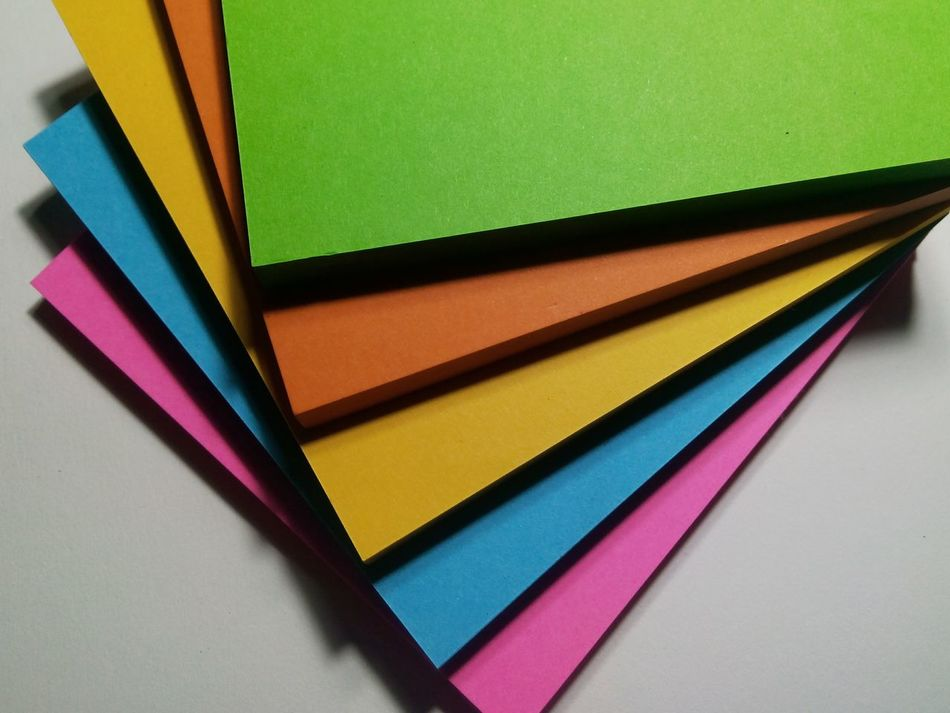 Papers Paper Paper Colour Art Post It Notes Post It Paper Colorful Paper EyeemTeam