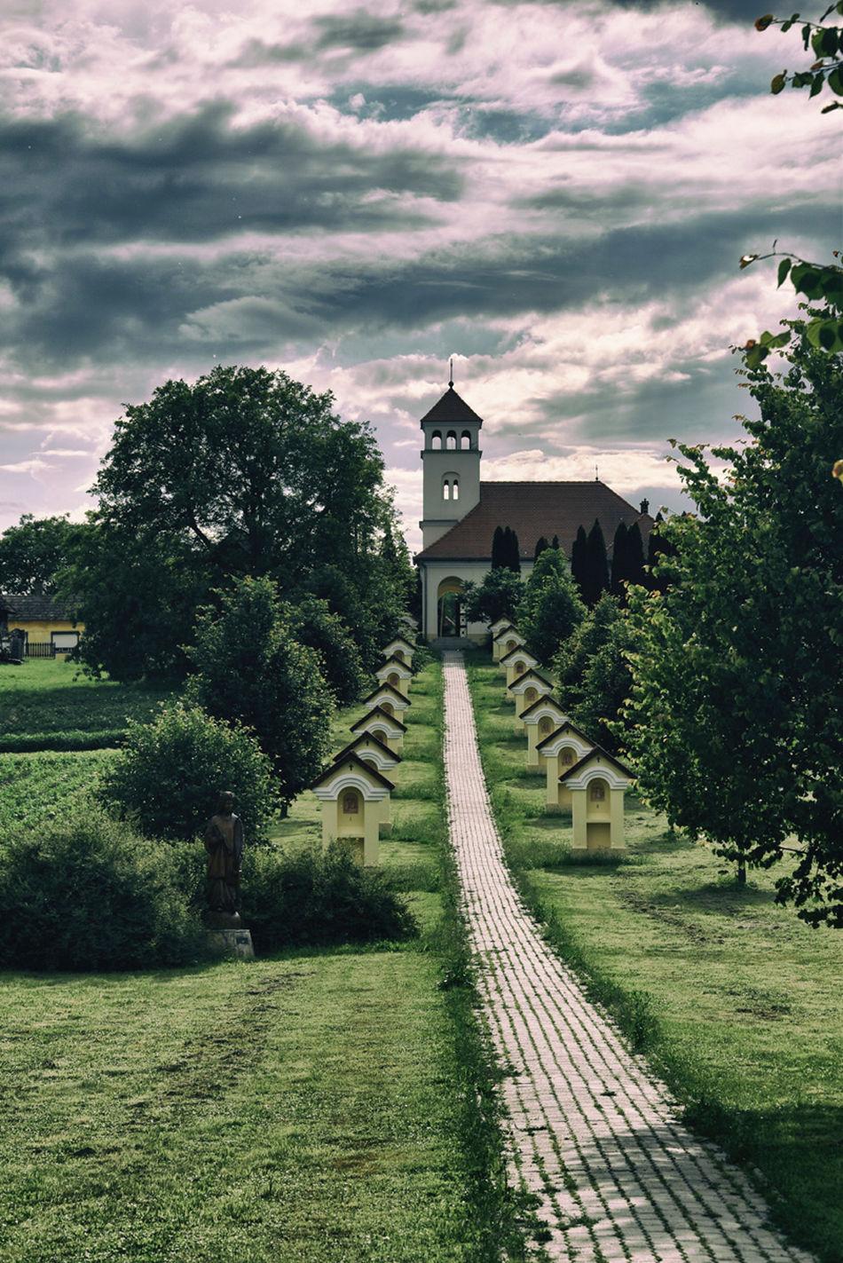 Bocska Church Cloud - Sky Cloudy Hungary Zala